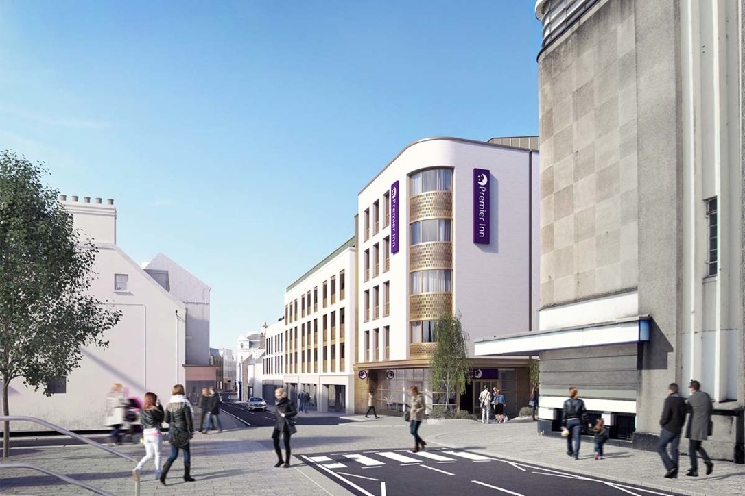 Bath Street Project Unveiled
