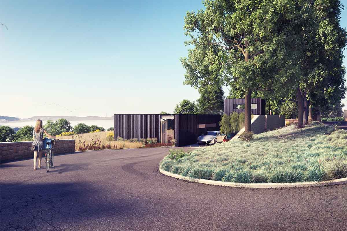 PROPOSED GUEST HOUSE LODGED FOR PLANNING | Axis Mason