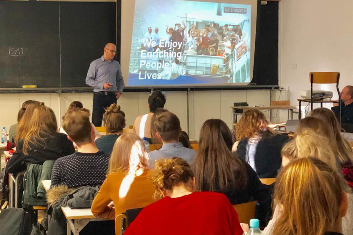 LECTURING AT THE GDANSK UNIVERSITY OF TECHNOLOGY | Axis Mason