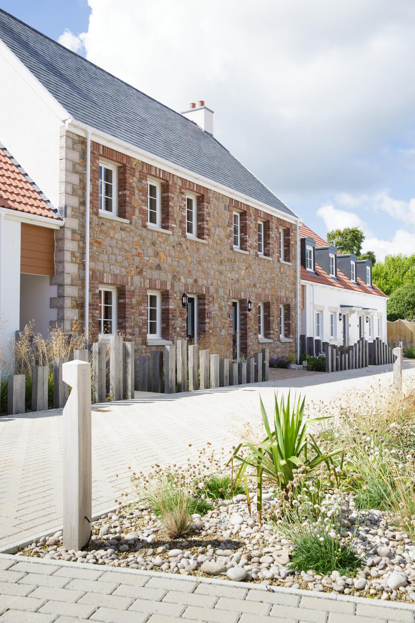 HAMEAU DE LA MER LANDSCAPE | St. Clement, Jersey | Axis Mason