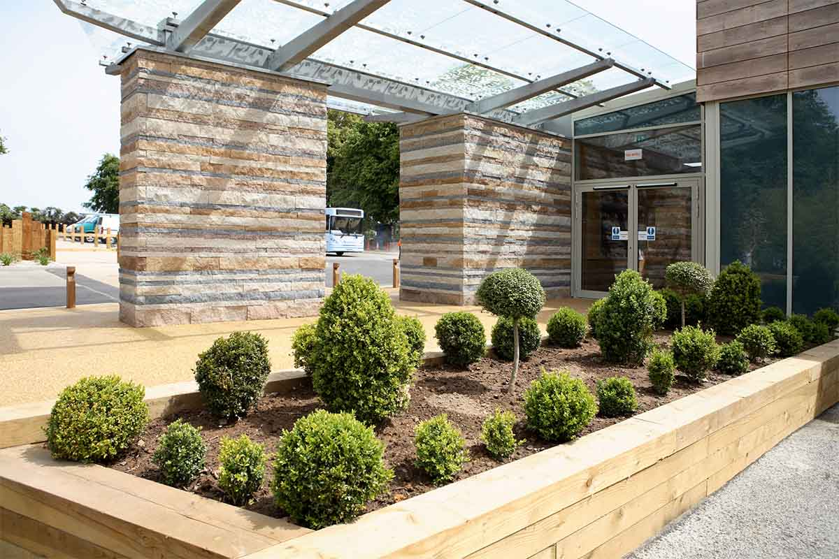 JERSEY ZOO VISITORS CENTRE LANDSCAPE | Trinity, Jersey | Axis Mason