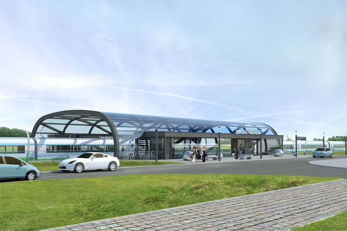 PKM RAILWAY STATIONS | Gdańsk, Poland | Axis Mason