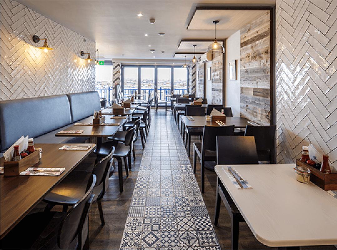 SEAFISH CAFE | St. Aubin, Jersey | Axis Mason