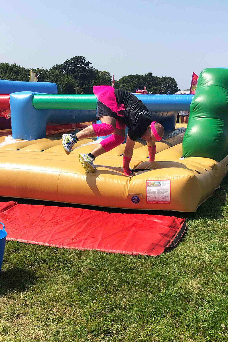 IT'S A KNOCKOUT!   Axis Mason
