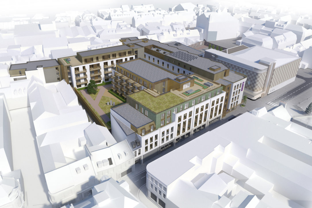 Bath Street Plan CGI