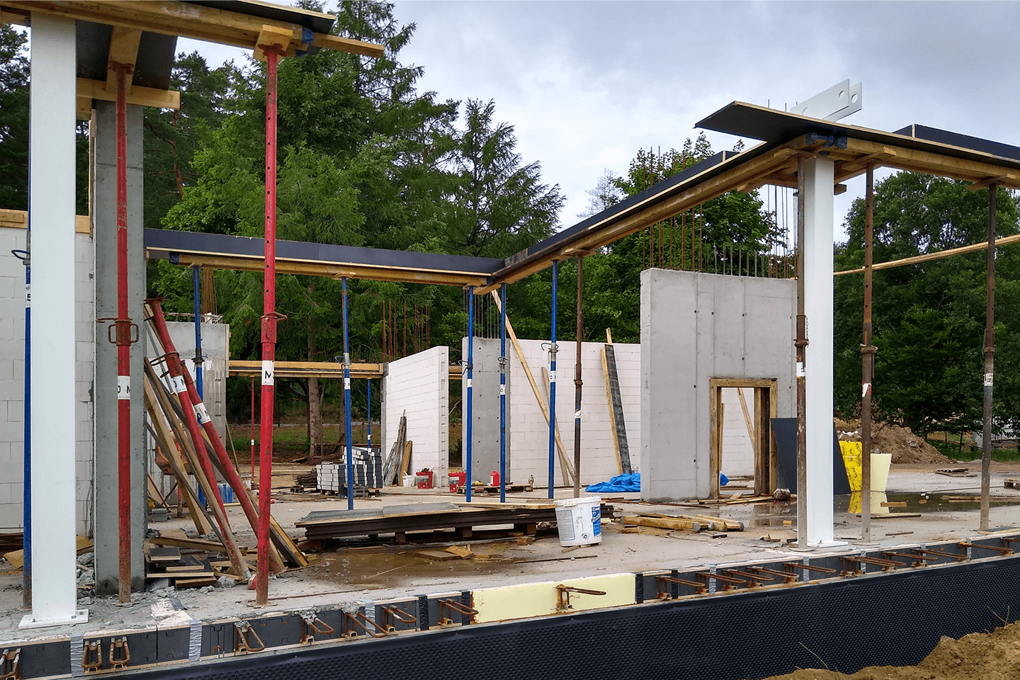 THE CONSTRUCTION OF WB HOUSE IS UNDERWAY | Axis Mason
